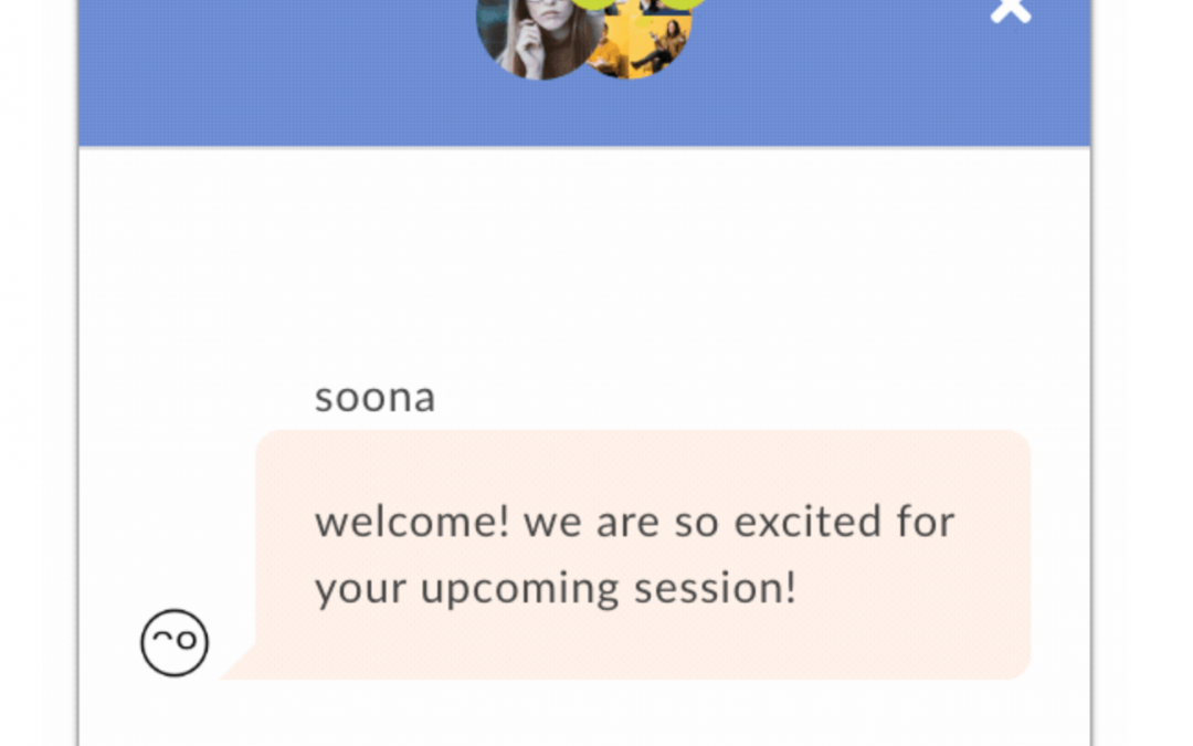 soona Anytime Now Features Real Time Chat!