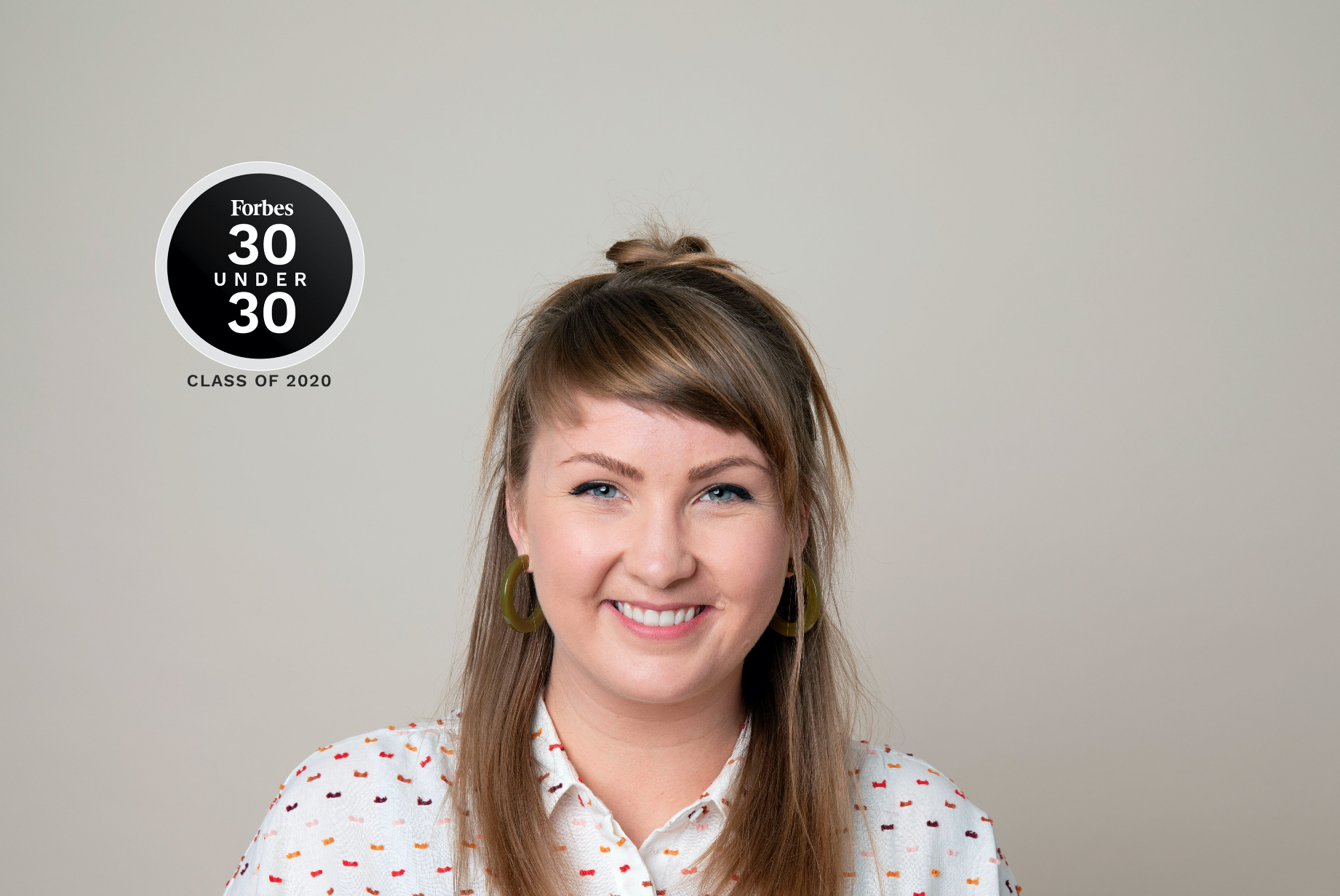 Hayley Anderson Forbes 30 Under 30