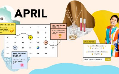 april content calendar
