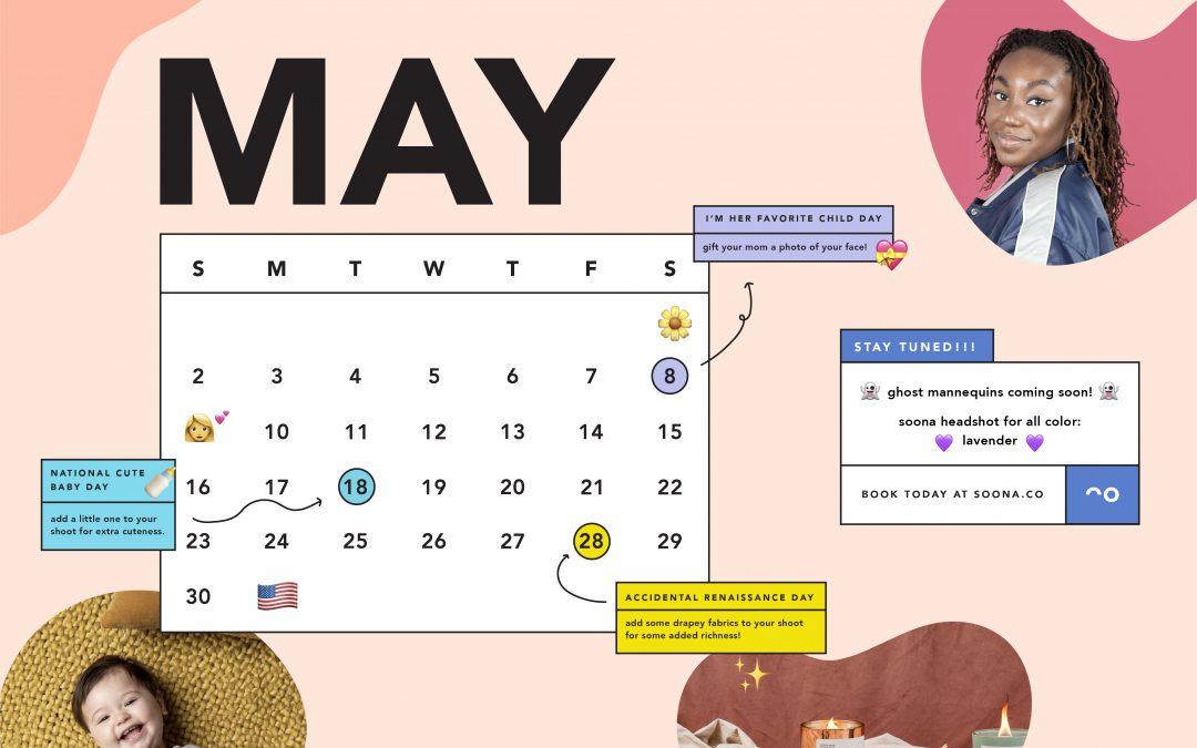 may content calendar