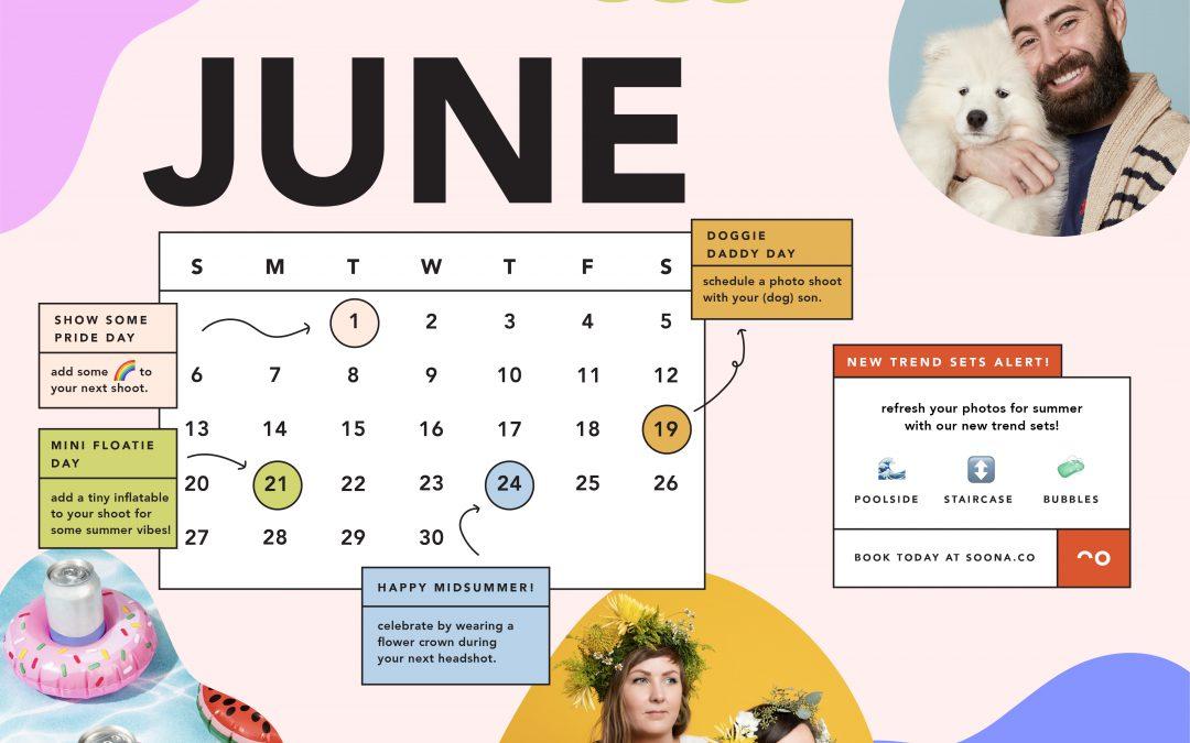 june content calendar